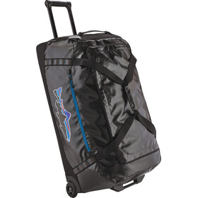 Patagonia Black Hole Wheeled Duffel Bag 120L Black w/Fitz Trout